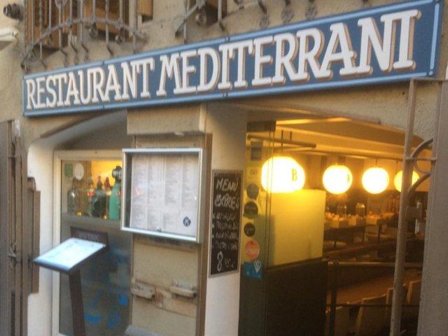 Restaurante Mediterrani