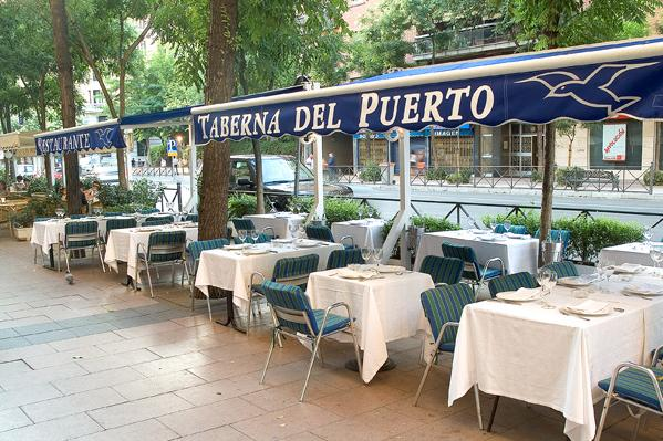 Restaurante la taberna del puerto d l madrid for Restaurante puerto rico madrid