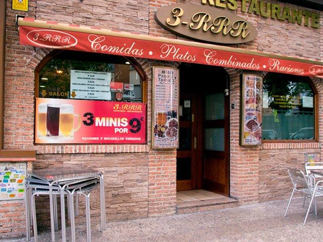 Restaurante Las 3 RRR